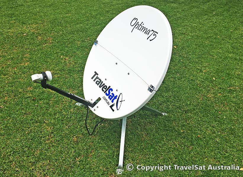 Optima 75 Satellite System