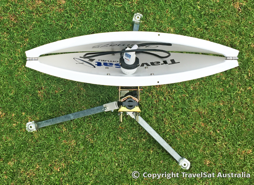 Optima75T Satellite Dish