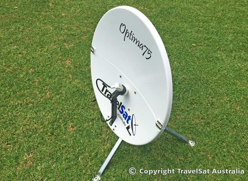 Optima 75 Portable Satellite Dish