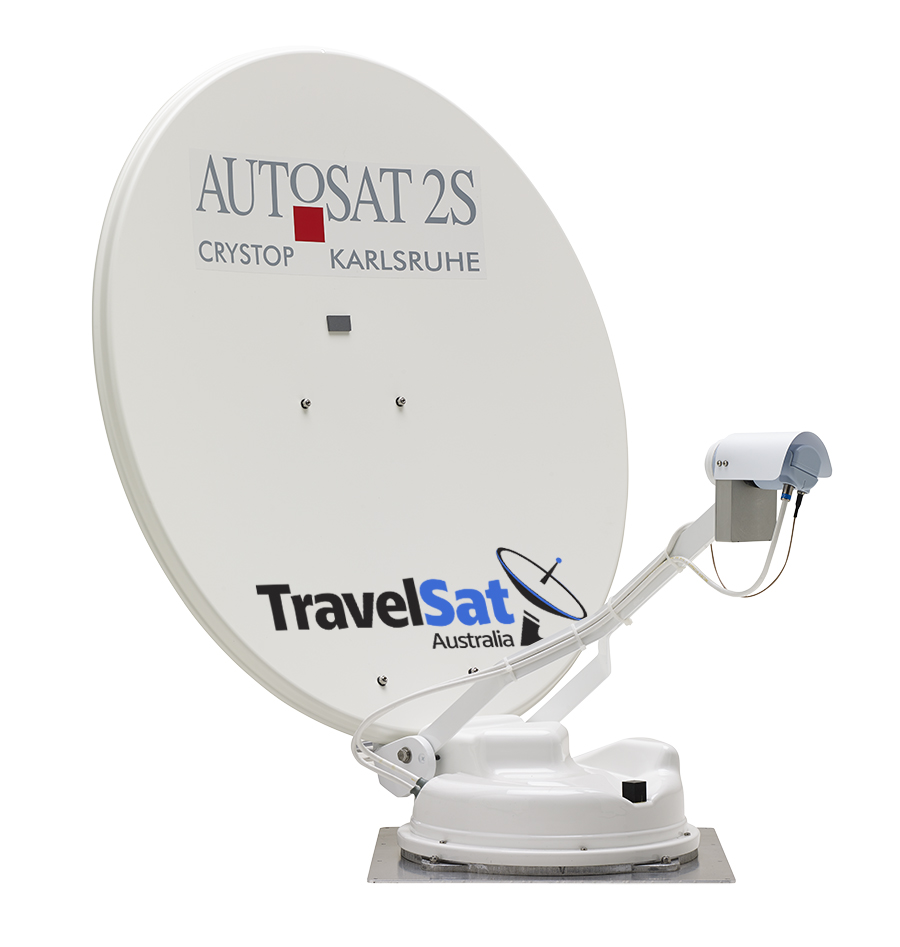 Autosat 2S Control - Fully Automatic Satellite Dish