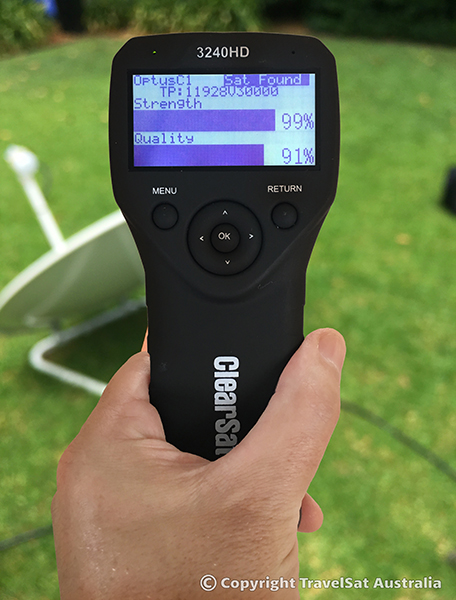 ClearSat 3240 Pro Handheld Satellite Meter