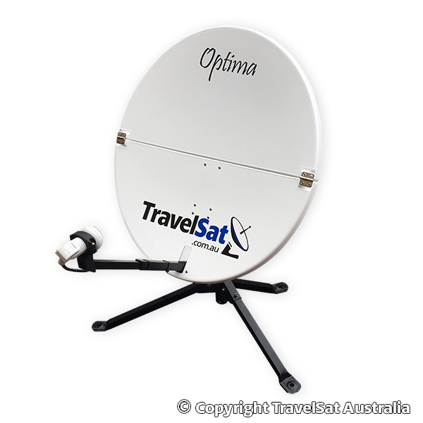TravelSat Optima-T2 Mobile PayTV Satellite Kit (DELUXE)