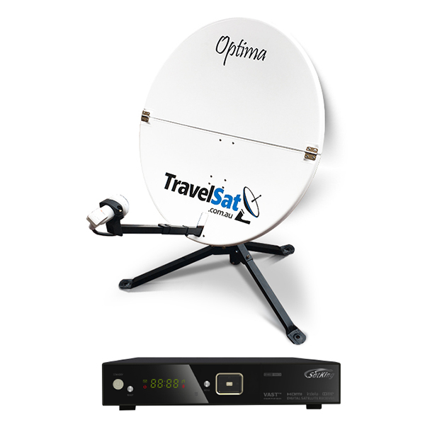 TravelSat Optima-T2 Portable VAST Satellite TV Kit (LITE)