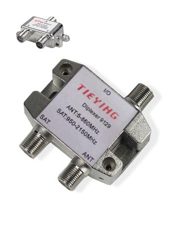 Satellite and Antenna Signal Diplexer (Combiner)