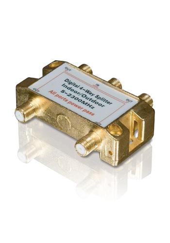 Satellite Signal Splitter - 4 Way