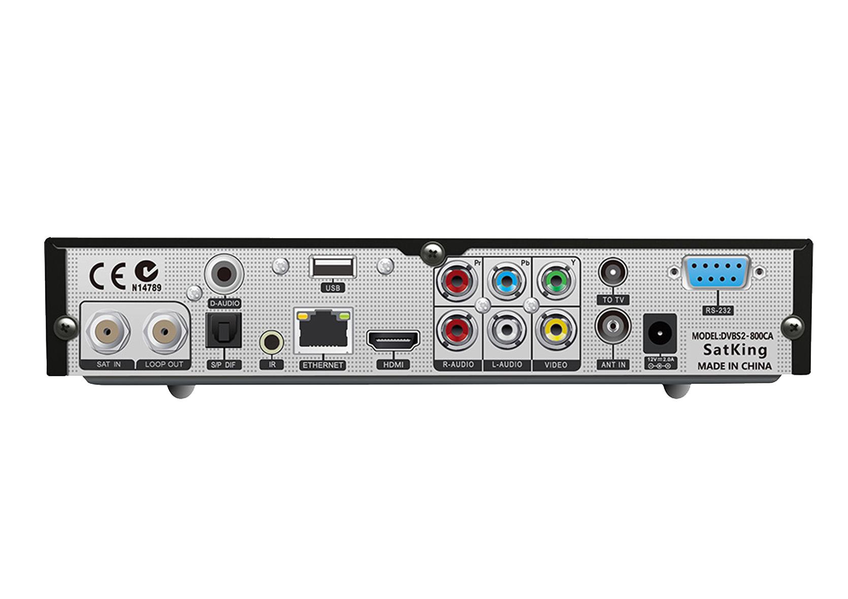 SatKing 800CA 12V/240V VAST Satellite Decoder