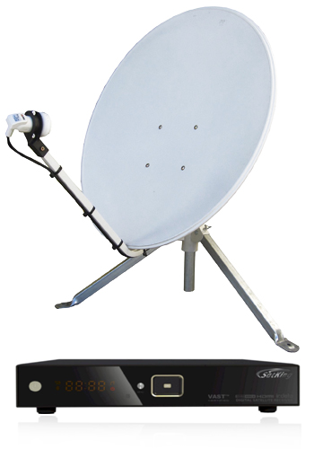TravelSat SP75 Mobile VAST Satellite TV Kit (LITE)